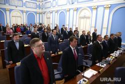 Депутаты Пермской городской Думы и сотрудники Администрации города. Пермь, депутаты стоят