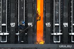 Пресс-тур на ООО Мечел-Кокс. Челябинск, печь, жар, коксовая батарея, рабочий