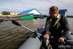Наводнение в Ишиме 2017 года. Тюменская область, лодка, ишим, наводнение, паводок