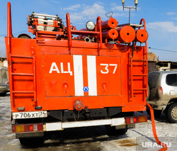 Рабочая поездка врио губернатора Алексея Текслера в Коркино и Полетаево. Челябинская область, пожарные