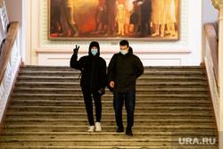 Первый учебный день в  Уральском федеральном университете (УрФУ) после карантинных мер. Екатеринбург, аудитория, урфу, учеба, студенты, масочный режим, учащиеся, лекции, очное обучение