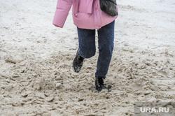 Снегопад, зима. Челябинск, снег, снегопад, зима, месиво, грязь, дорога