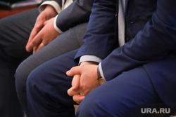 Заседание Административной комиссии. Курган, депутат, чиновник, руки в замок, руки