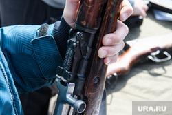 Виды Екатеринбурга, оружие, военное воспитание, винтовка симонова, затвор