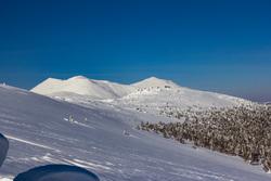Природа Пермского края. Пермь, зима, деревья в снегу, северный урал, горы зимой, тулымский камень