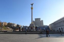 Площадь независимости (Майдан) в Киеве, майдан, киев, украина, площадь независимости