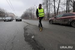 Выезд рабочей группы по дорогам города с Дмитрием Микуликом. Челябинск, асфальт, дорожник, дорога после ремонта, курвиметр