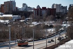 Виды города. Пермь, город пермь, улица северная дамба