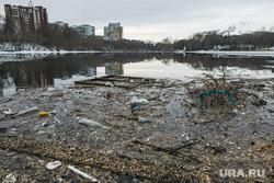 Виды Екатеринбург, тбо, мусор в воде, городской пруд, екатеринбург , загрязнение окружающей среды, экология, бытовой мусор