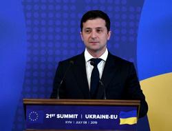 Владимир Зеленский, президент Украины. Сайт президента Украины, саммит, флаг украины, зеленский владимир