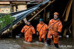 Последствия паводка в Нижних Сергах. Свердловская область, мчс, природные катаклизмы, последствия паводка, стихийное бедствие