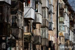 Виды города. Пермь, пятиэтажка, хрущевки, балкон, недвижимость, квартира, хрущевка