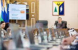Заседание Думы города 6 созыва. Нижневартовск, клец максим, герб нижневартовска