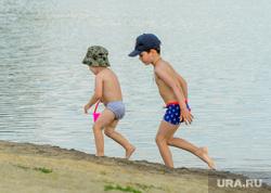 Частный пляж «Западный». Челябинск, песок, лето, дети, пляж, отдых, игра, пляжный сезон