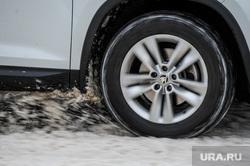 Снегопад. Челябинск, шкода, колесо, авто, снегопад