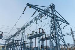 Клипарт. Магнитогорск, ток, провода, подстанция, электричество, электрификация, электроопора