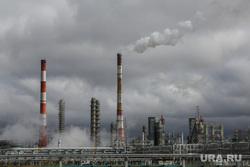 Строительство второй очереди завода СИБУР. Тобольск, дым из трубы, завод сибур, стройка, экология, запсибнефтехим