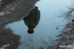 Изоляция. Тюмень., отражение, весна, отражение в луже