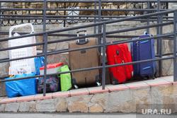 Палаточный госпиталь на железнодорожном вокзале. Курган, чемоданы, багаж, жд вокзал