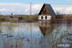 Паводок Курган, паводок2016, поселок смолино, дом в воде
