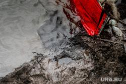 Рабочая поездка Дмитрия Кобылкина в Норильск. Норильск, катастрофа, аварийные работы, экология, разлив нефти, экологическая катастрофа