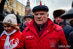Возложение цветов к Вечному Огню. Москва, коммунисты, кпрф, зюганов геннадий