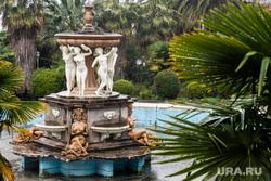Виды Сочи, сочи, парк, фонтан, сталинский неоклассический стиль
