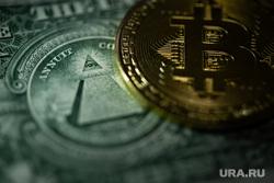 Клипарт. Сургут, финансы, деньги, валюта, биткоин, криптовалюта, новый мировой порядок, всевидящее око, доллары
