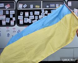 Евромайдан. Киев, флаг украины