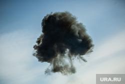 Торжественные мероприятия в честь 5-летия отряда ОМОНа. Сургут, взрыв, гриб от взрыва