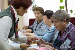 Факультет ДПИ в университете третьего возраста. г. Курган, пенсионерки, бабушки, мастер класс, пенсия, университет третьего возраста