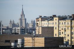 Виды Москвы, гостиница украина, город москва, сталинская высотка