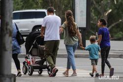 Дети. Пенсионеры. Курган, многодетная семья, семья, детская коляска