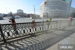 Пыль в городе. Дороги города Челябинск, пыль в городе, уборка города