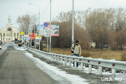 Обзор гостевого маршрута к приезду Путина. Челябинск, пешеход, ограждение, аэропорт челябинск
