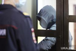 Приговор главарю преступной группы Дмитрию Романову. Курган, арест, преступник, судебное заседание, задержанный, арестант