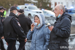 Несанкционированная акция сторонников оппозиционера Алексея Навального. Курган