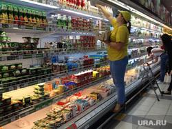 Продукты. Санкции. Алое поле. Проспект. Никитинские ряды. Челябинск., продуктовый магазин, молоко, йогурт