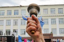 Последний звонок в гимназии 10. Челябинск, последний звонок, колокол, гимназия10