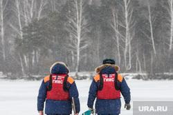 Профилактическая акция «Тонкий лед» на озере Шарташ. Екатеринбург, гимс по свердловской области