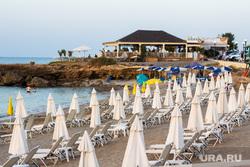 Греция. Крит., море, курорт, пляж закрыт, отдых