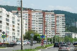 Виды Железногорска, Красноярский край, многоэтажки