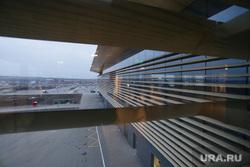 Новый терминал Пермского аэропорта Большое Савино. Пермь , аэропорт, вид из окна