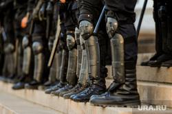 Несанкционированная акция сторонников оппозиции. Челябинск, спецназ, силовики, полиция, росгвардия, омон