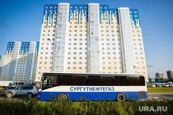 Клипарт. Сургут, автобус, вахта, сургутнефтегаз, вахтовый автобус
