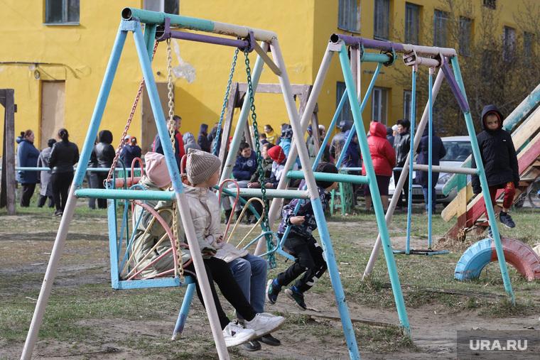 Выселение жильцов из общежития КГСХА. Курган