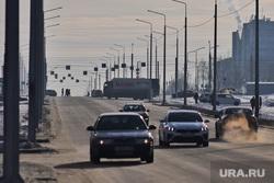 Полпред Якушев Владимир посетил проспект Мальцева. Курган, машина, проезжая часть, дорога, проспект мальцева, заоезерный