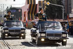 Генеральная репетиция военного парада, посвященного 76-ой годовщине Победы в Великой Отечественной войне. Екатеринбург