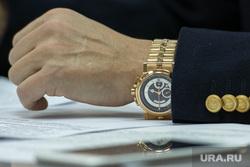 Заседание совета Общественной палаты СО по реформе МСУ. Екатеринбург, вип часы, майзель сергей, breguet
