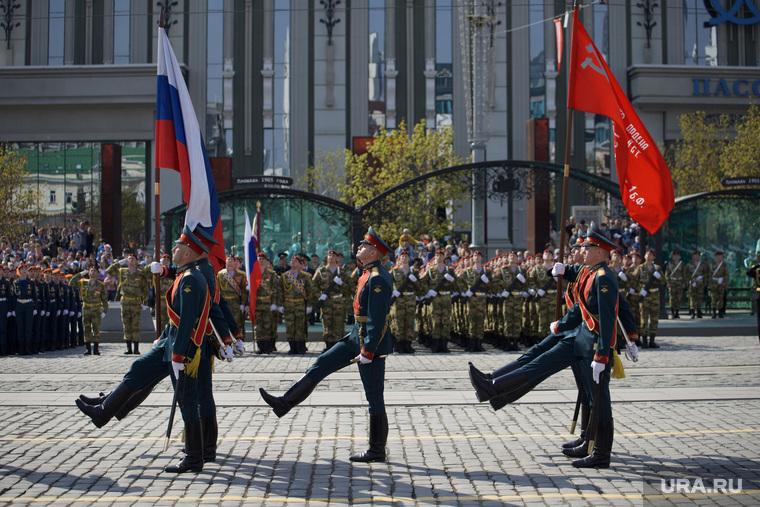 Парад в Екатеринбурге